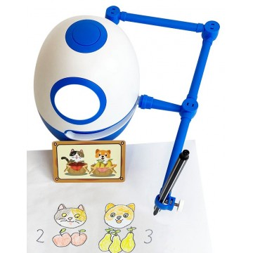Drawing Robot 96 courses Blue